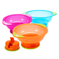 婴儿碗勺套装辅食碗儿童吃饭吸盘碗宝宝餐具