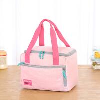 女保温袋铝箔加厚大号手提防水便当手提包装饭盒的袋子方形带饭包