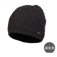 时尚男士包头帽套头帽韩版潮毛线帽男冬季帽子男士户外针织帽时尚羊毛帽