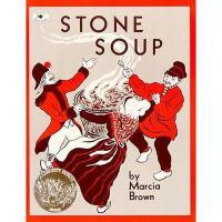 Stone Soup: An Old Tale 英文原版儿童书 石头汤(凯迪克银奖绘本)