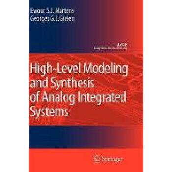 【预订】High-Level Modeling and Synthesis of Analog Y9781402068010 美国库房发货,通常付款后3-5周到货!