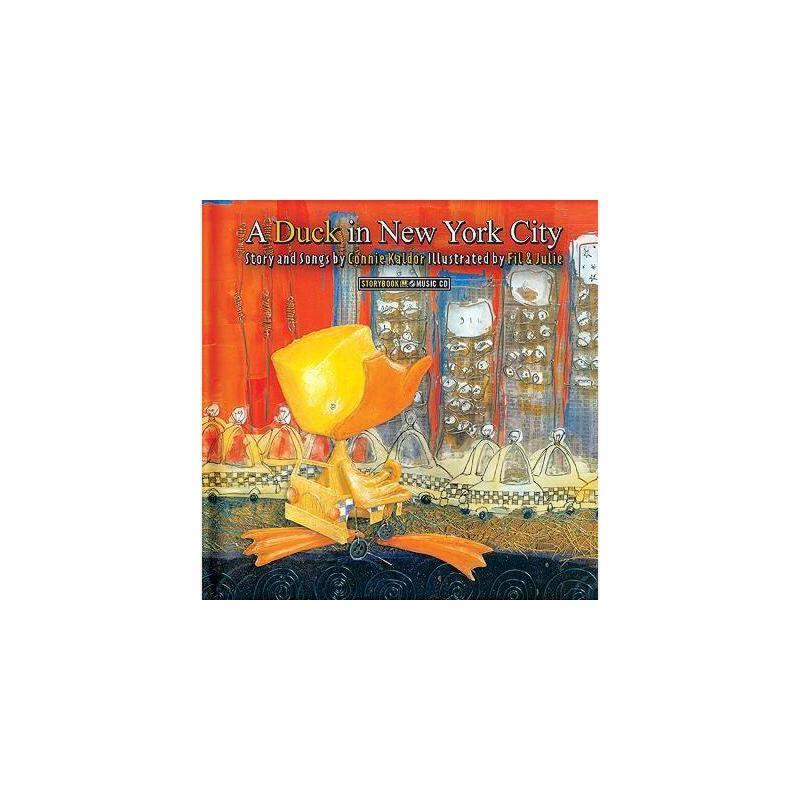 【预订】A Duck in New York City [With CD] 美国库房发货,通常付款后3-5周到货!
