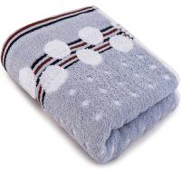 三利 纯棉提花波点毛巾单条装