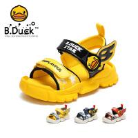 【3折�r:89.7】B.Duck小�S��童鞋男童�鲂�2020夏季新款�和�鞋����中小童�底透��B2183932
