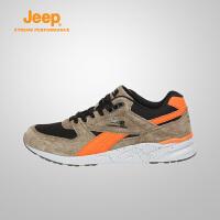 【特惠价】Jeep/吉普 男士户外耐磨防滑减震徒步登山运动鞋J731091201