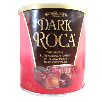 roca乐家 美国进口乐家黑巧扁桃仁糖果284g 进口巧克力糖果休闲零食