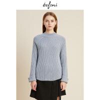 伊芙丽冬装新款韩版时尚女装毛针织衫1188934571