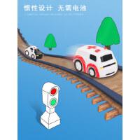 儿童益智玩具小火车套装轨道车停车场汽车闯关大冒险男孩3-4-6岁