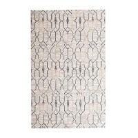 奇居良品 北欧简约现代客厅茶几卧室混纺地垫地毯 赫尔曼系列