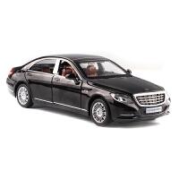 玩具仿真6开门回力小汽车合金儿童玩具奔驰1:32金属车模