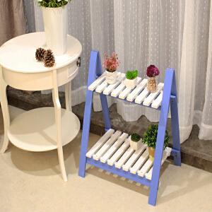 门扉 花架 桌面迷你组装多功能创意阳台梯形飘窗置物架
