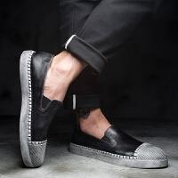 CUM 潮牌U 男乐福鞋休闲鞋夏季新款潮流百搭男鞋青年潮鞋复古皮鞋男