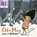 【中商原版】Andrea Stegmaier:梅艾娜的方式 Ella May Does It Her Way 低幼童书