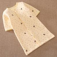婴儿童睡袍 宝宝幼儿夹棉睡衣服男女童春夏季长袖