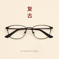 韩版复古眼镜框女潮933超轻镍钛合金眼镜架男圆脸可配防蓝光