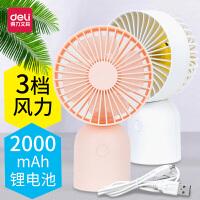 迷你掌上空调风扇制冷小型桌面usb可充电随身学生便携式小电风扇