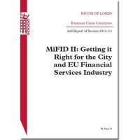 【预订】Mifid II: Getting It Right for the City and Eu