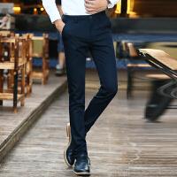【包邮】 2017枫裳依舍休闲裤男士西裤 男装韩版修身长裤直筒裤