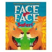 英文原版 Jungle Beasts Pop-up: A Safari Face-to-Face 儿童立体书