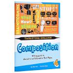 【中商原版】【新加坡英语教材】Targeting English Composition Book 4 目标英语作文4