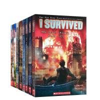英文原版小说 I Survived the Eruption of Mount St. Helens 6册 1980年圣海伦火山爆发我幸存下来 灾难历史求生本能指南故事青少年章节书