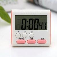 大屏厨房定时器提醒器大声音正闹钟成人老人学生儿童家用西餐睡觉