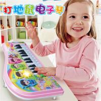 宝宝音乐儿童打地鼠电子琴婴钢琴玩具0-1-3-6岁