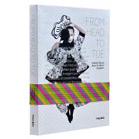 FROM HEAD TO TOE 从头到脚 一身创意 时尚品牌形象设计 时尚设计 平面设计作品集书籍