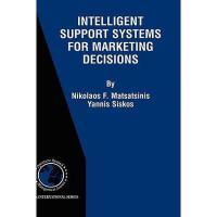 【预订】Intelligent Support Systems for Marketing Decisions