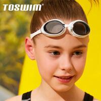 TOSWIM拓��和�泳�R高清防�F防水男女大框��I舒�m��游泳眼�R