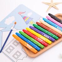 得力72076水性油画棒炫彩棒水彩笔蜡笔儿童学生绘画笔画笔文具