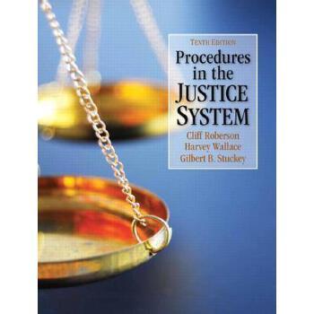 【预订】Procedures in the Justice System 美国库房发货,通常付款后3-5周到货!