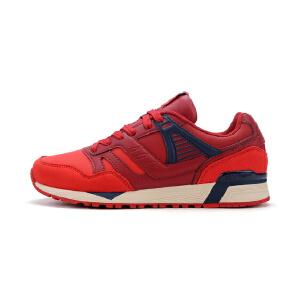 特步女鞋跑步鞋防滑耐磨皮面休闲舒适运动鞋984318325795