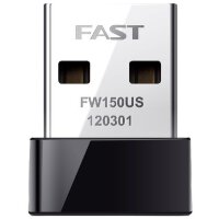 FAST迅捷FW150US无线网卡usb家用迷你便携wifi随身隐形台式机笔记本电脑信号发射器接收器