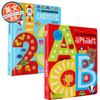 My Awesome Alphabet Book + My Awesome Counting Book 神奇的数字和神