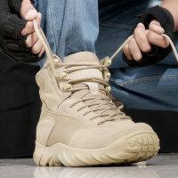 户外登山鞋军迷作战靴战术靴军靴男透气陆战靴作训鞋沙漠靴防水徒步鞋