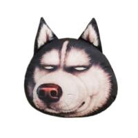 抱枕单身狗搞怪哈士奇公仔毛绒玩具二哈大号创意表情生日礼物男女