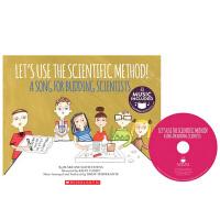 英文原版 Cantata Learning Let's Use the Scientific Method 书+CD