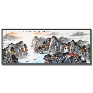 中国美协会员、国家一级美术师 张临光《苍山神韵》