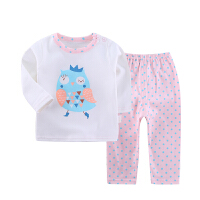 衣服套装婴儿内衣春夏季男童女童长袖婴幼儿衣服外出服