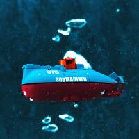 遥控潜水艇无线迷你电动充电玩具船 6通道遥控潜艇核潜艇