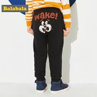 巴拉巴拉童装男童裤子小童宝宝长裤春秋2018新款儿童休闲裤运动裤