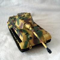 拼装军事模型 仿真1/72 二战虎式虎王坦克世界(需要自己拼装) +胶水+工具套