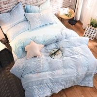 3D立体雕花宝宝绒四件套加厚珊瑚绒保暖法莱绒1.5法兰绒1.8m床品 2.0m(6.6英尺)床 床笠款需定制不可退换