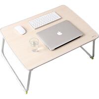 赛鲸放床上书桌可折叠小桌子学生宿舍用懒人桌板坐月子吃饭桌老人病人放在病床餐桌写字打游戏的笔记本电脑桌