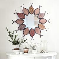欧式风格玄关镜 创意卧室化妆镜 个性家居装饰镜子