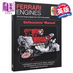 【中商原版】法拉利发动机爱好者手册 英文原版 Ferrari Engines Enthusiasts' Manual: