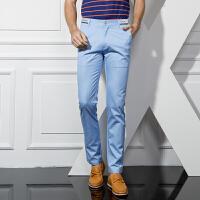 1号牛仔 男士新款时尚休闲裤商务男长裤 支持货到付款,包邮