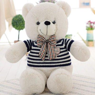 毛衣泰迪熊公仔布娃娃1.6米大号毛毛熊玩偶毛绒玩具抱抱熊1.2