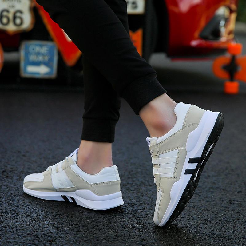 春季男士运动休闲男鞋韩版潮流百搭学生跑步潮鞋夏季透气板鞋布鞋